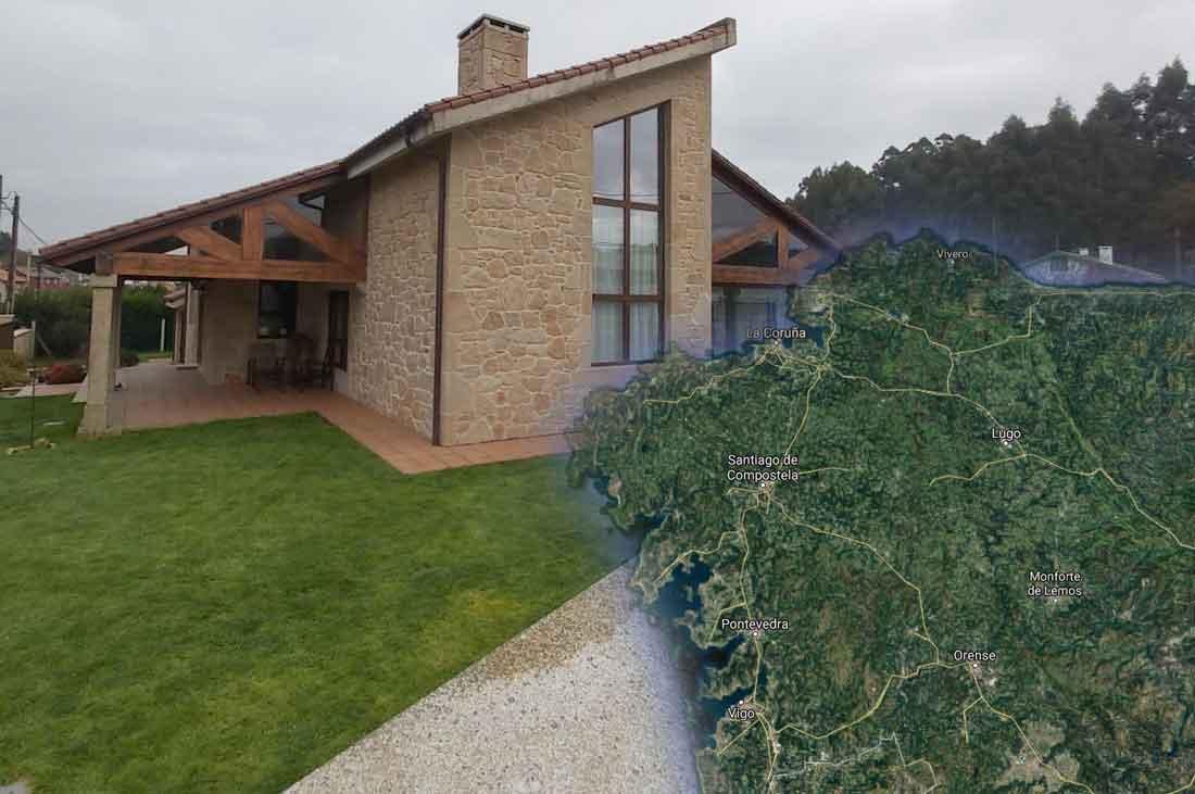 Construcción de casas rústicas en Galicia